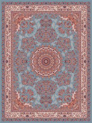 فرش 700 شانه 8 رنگ طرح دلربا