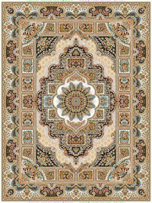 فرش 1200 شانه طرح تاج