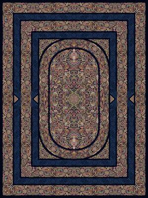 فرش 1200 شانه طرح دستان